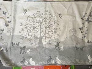 Natibaby magical Forest grey, katoen hennep