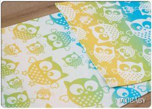Natibaby Magical Owls Spring 100% katoen