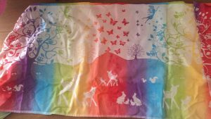 Natibaby Magical Forest Fairies of the Rainbow white 100% katoen