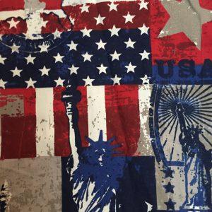 USA decoratiestof (rugpand)