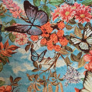 vlinders, stevige stof alleen geschikt voor rugpand